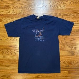 Vintage Alaska Embroidered shirt
